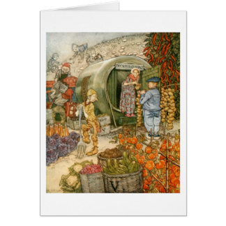 Mr and Mrs Vinegar at Home Card
