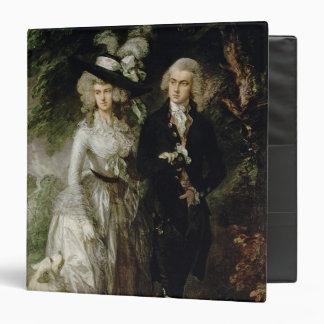 Mr and Mrs William Hallett , c.1785 Binder