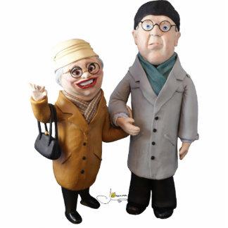 Mr and Ms the jumbo derrick Cutout