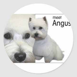 Mr Angus Stickers
