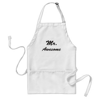Mr Awesome Apron