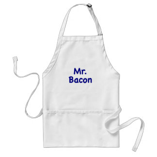 Mr. Bacon Adult Apron