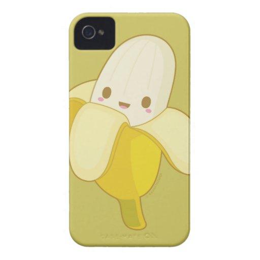 Mr.Banana Kawaii iPhone 4 Case-Mate Protector