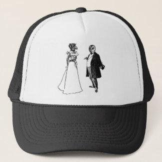 Mr Barnowl & Mrs Llama Trucker Hat
