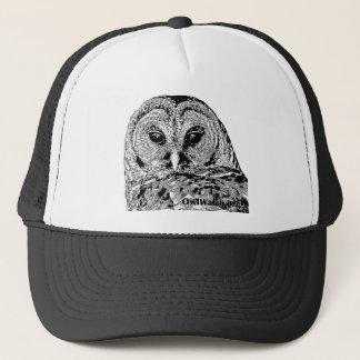 Mr Barred Owl - 2015 Light Background Trucker Hat