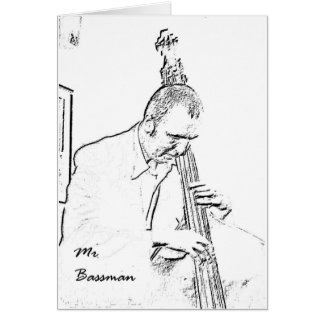 Mr Bassman Card