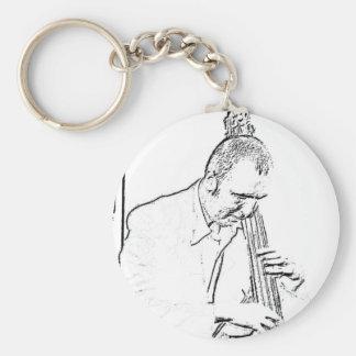 Mr Bassman Keychain