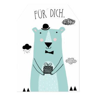 Mr. Bear Card