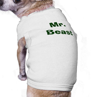 Mr. Beast Funny Pup Doggie Tshirt
