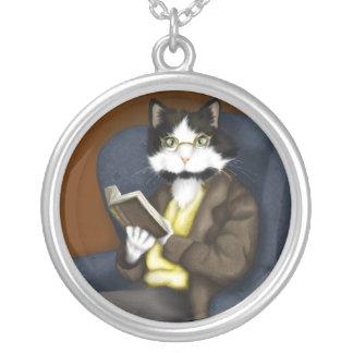 Mr Bennet Cat necklace