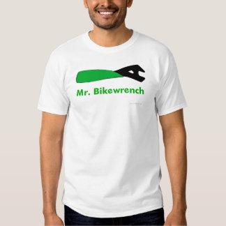 Mr. Bikewrench green basic t-shirt