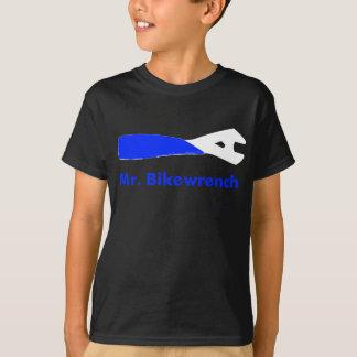 Mr. Bikewrench kids blue dark T-Shirt