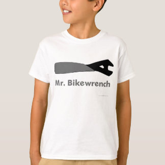 Mr. Bikewrench kids' t-shirt