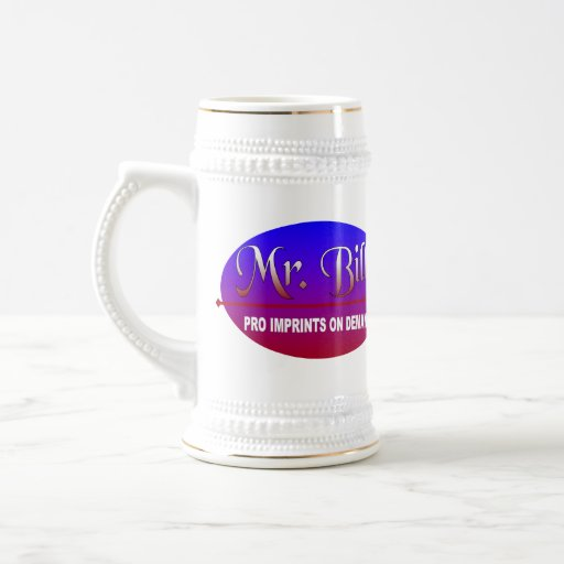 mr_bill2_logo CUP Coffee Mugs