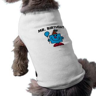 Mr Birthday Classic Pet T-shirt