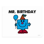 Mr Birthday Classic Postcard