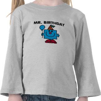 Mr Birthday Classic Tee Shirts