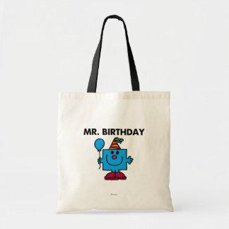 Mr. Birthday | Happy Birthday Balloon Budget Tote Bag