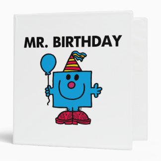 Mr. Birthday | Happy Birthday Balloon Binder