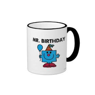 Mr. Birthday | Happy Birthday Balloon Ringer Coffee Mug