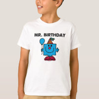 Mr. Birthday | Happy Birthday Balloon T-Shirt