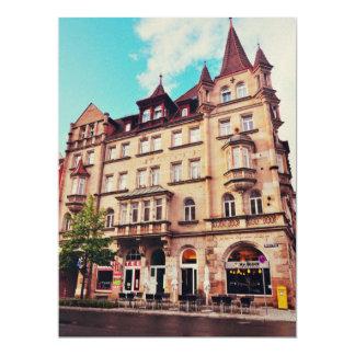 Mr. Bleck - Friedrich-Ebert-Platz, Nuremberg 6.5x8.75 Paper Invitation Card