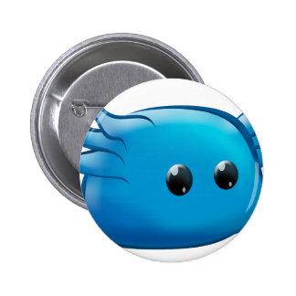 Mr Blu Pinback Buttons