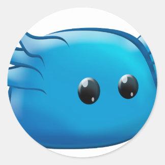 Mr. Blu Classic Round Sticker