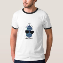 Mr. blue Ananas T-Shirt