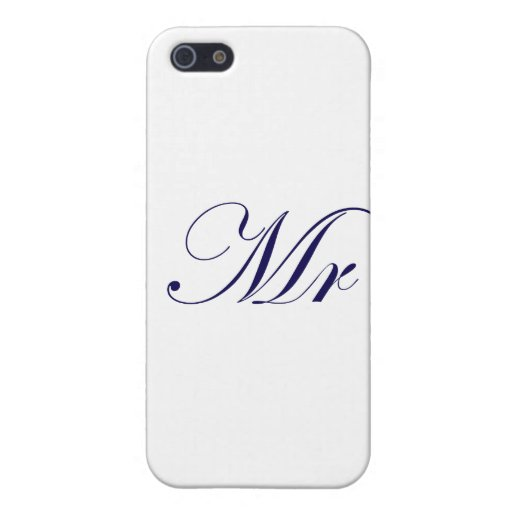 Mr-Blue iPhone 5 Cases