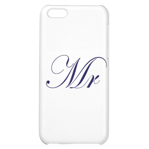 Mr-Blue iPhone 5C Cover
