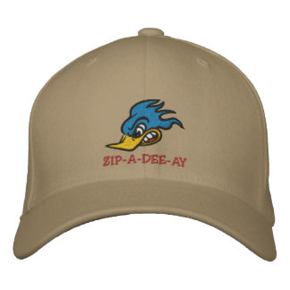 "Mr. Bluebird ""ZIP-A-DEE-AY"" Embroidered Baseball Hat"