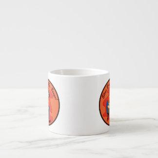 Mr. Bongo Espresso Mug 6 Oz Ceramic Espresso Cup