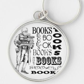 Mr. Books Keychain