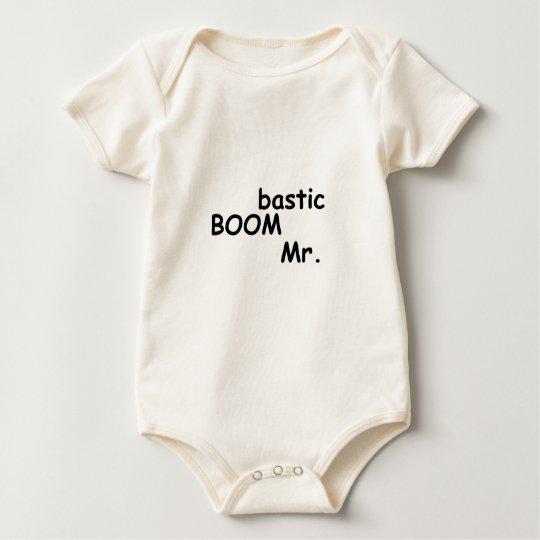 Mr boombastic baby bodysuit