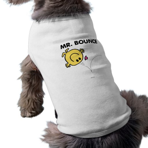 Mr. Bounce | Classic Pose Dog Tee Shirt