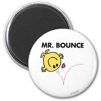 Mr. Bounce | Classic Pose 2 Inch Round Magnet