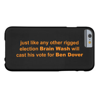 Mr. Brain Wash Barely There iPhone 6 Case