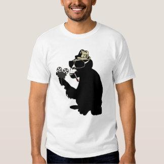 mr. brainwash monkey tee shirt