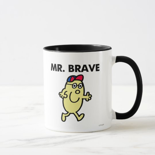 Mr. Brave Waving Hello Mug