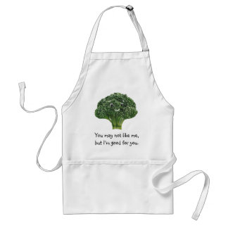 Mr.Broccoli Adult Apron