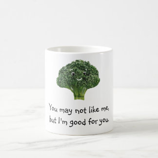 Mr.Broccoli Classic White Coffee Mug