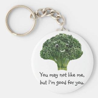 Mr.Broccoli Keychain