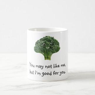 Mr.Broccoli Taza Básica Blanca