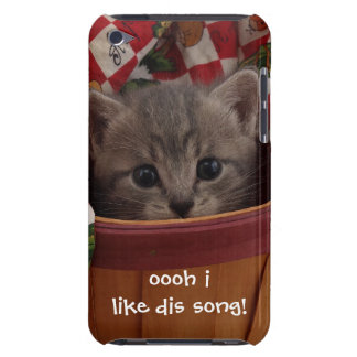Mr. Brown Kitty iPod Case-Mate Cases