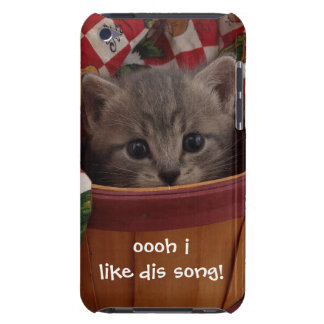 Mr. Brown Kitty Barely There iPod Covers