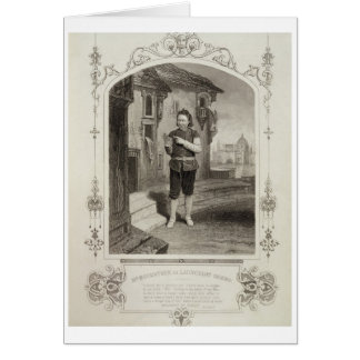 Mr Buckstone as Lancelot Gobbo Act II Scene 2 in Greeting Cards