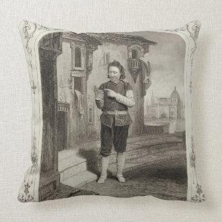 Mr Buckstone as Lancelot Gobbo Act II Scene 2 in Throw Pillows