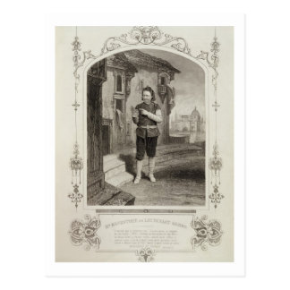 Mr Buckstone as Lancelot Gobbo Act II Scene 2 in Post Card