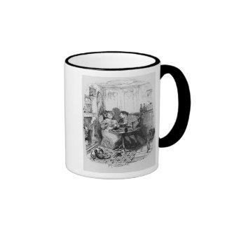 Mr Bumble and Mrs Corney taking tea Coffee Mugs